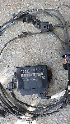 AUDI TT 8J MK2 Reverse PARKING AID CONTROL UNIT 8P0919283D and harness + SENSORS