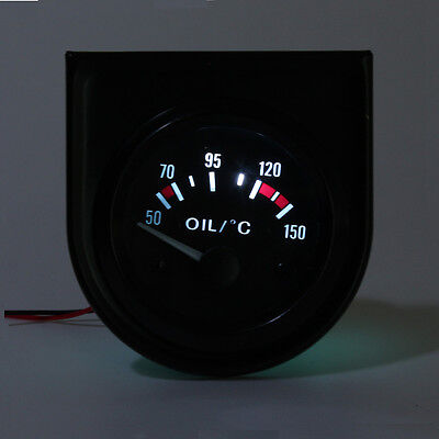 2'' 52mm LED Car Water/Oil Temp/Pressure/Volt/Ammeter/Fuel Level Pointer GAUGE