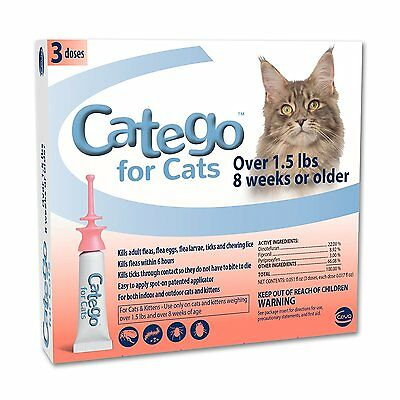 Brand New Catego For Cats Over 1.5 Lbs (3 Month Supply)- Ships Free!