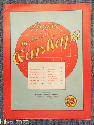 Lloyd's Up-to-date War Maps, Rotaprint, 1940'S