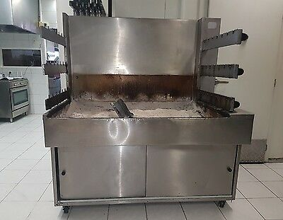 CHARCOAL CHICKEN MACHINE and grill