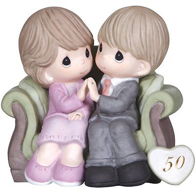 Precious Moments Through The Years 50th Anniversary Figurine FREE SHIPPING