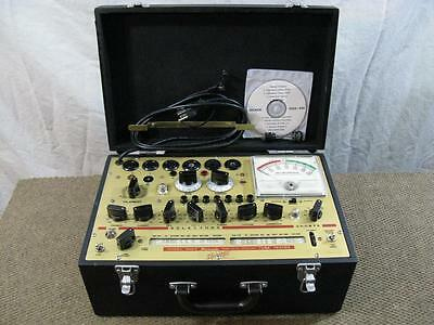 Hickok 600A Mutual Conductance Tube Tester - Calibrated - Specs Near Perfect *.*
