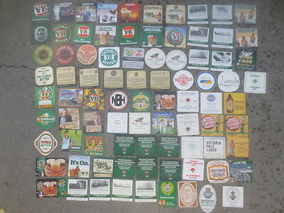 84 different VICTORIA BITTER / BREWERY collectable BEER COASTERS