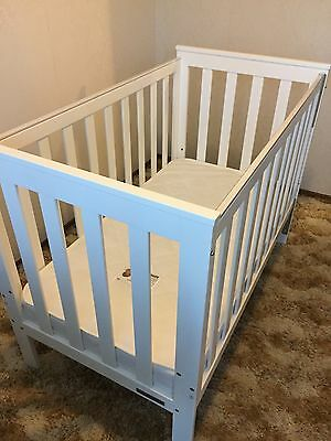 "Childcare 3-Way Sandford DL Cot ""Never Used"" + Mattress"