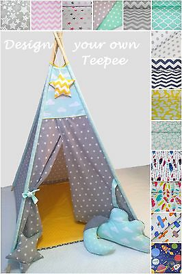 Teepee Tent Kids Children's Tipi Wigwam Play House Play Tent Indoor / Outdoor