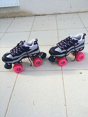 4wheelers by skechers taille 36 (patins à roulettes vintage)