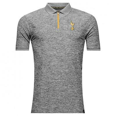 Tottenham Hotspur Spurs Under Armour mens grey fitted player polo shirt 2016-17