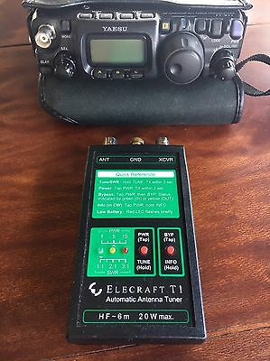 Elecraft T1,hf Antenna Tuner,Yaesu Ft-817,Elecraft Kx2,kx3