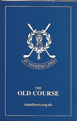 4 x St ANDREWS OLD COURSE SCORECARDS Scotland Home of Golf 2005 Edition