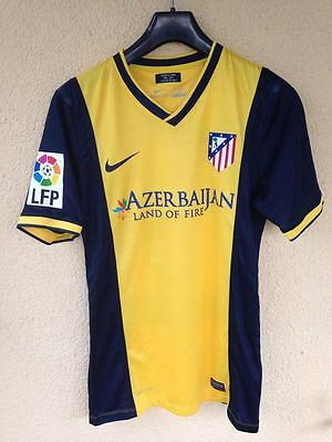 Atletico Madrid Match Issued Jersey Shirt David Vila