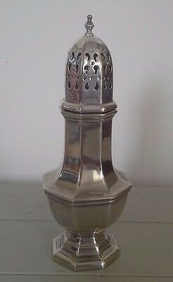 antique art deco silver sugar caster, antique, silver