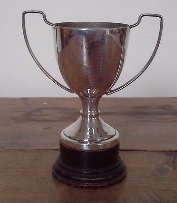 Vintage silver trophy, silver, trophy, trophies, NOT ENGRAVED