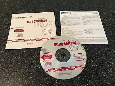 OFFICIAL SONY ImageMixer IMx Version 1.5 SPVD-010 USB Driver Software CD