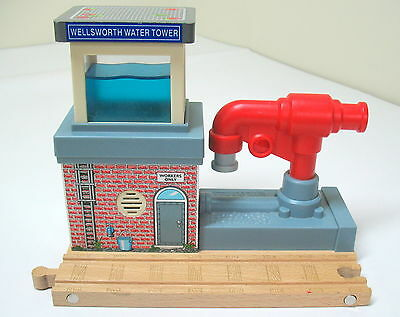 Thomas & Friends, Wooden, Wellsworth Water Tower, Learning Curbe 2008, EUC