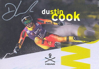 Dustin COOK (CAN)  orig.Autogramm AK 2./WM 2015 Ski Alpin ++TOP++