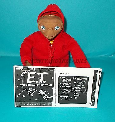 Tiger Electronics Furby E.t. Et Interactive Alien Movie Figure & Instructions