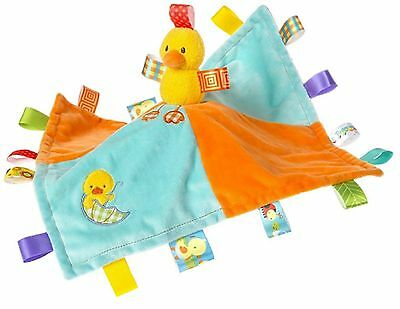 40025 Taggies Dipsy Duck Baby Comforter Blanket - PERSONALISED EMBROIDERY OFFER
