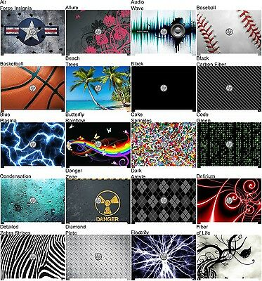 Choose Any 1 Vinyl Decal/Skin for Dell Latitude D620 - D630 - Free US Shipping!