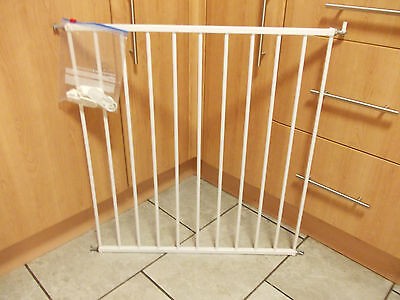 White Baby Dan No Trip Safety / Stair Gate.