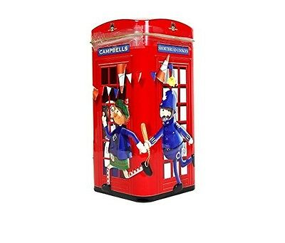 Campbells Traditional Shortbread Cookies in Novelty Telephone Kiosk Tin - 175 g