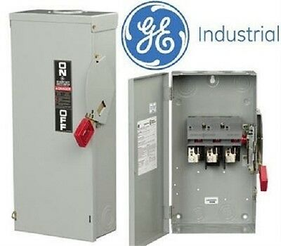Ge Th3362 60A3P Hd N1 600V Fusible Switch