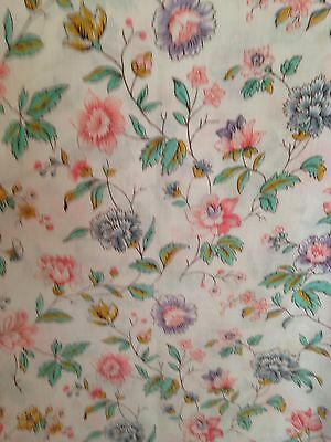 French  Cotton Fabric 45in x 88in