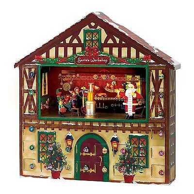 Mr. Christmas 23963 Animated Advent House FREE SHIPPING (BRAND NEW)
