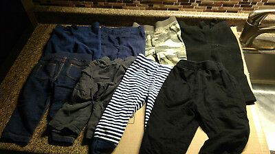 Lot 8 Baby Boys Clothes 12 Months Pants Toddler Carters Koala Kids Old Navy e