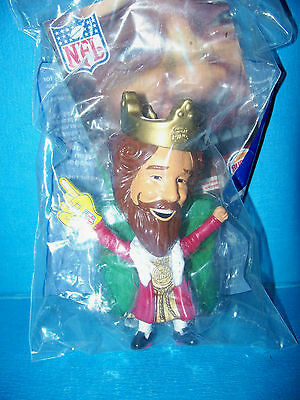 NIP 2006 Burger King NFL Yellow Finger Number One Toy Factory Sealed MINT