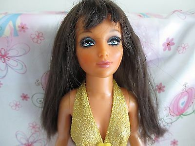 Vintage 1973 70's Ideal Tiffany Taylor doll with moving scalp original swimsuit!