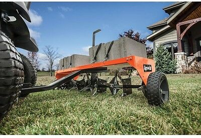Tow Plug Aerator Mower Attachment Soil Lawn Aerator Knives Universal Hitch 48 In