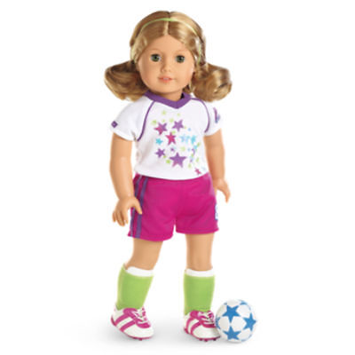 American Girl Soccer Team Outfit-Brand New In Truly Me Box