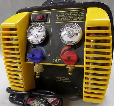 Pre-Owned Appion G5 Twin Refrigerant Recovery Unit Pumps R410A Liquid or Vapor