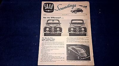 Winter 1967 Saab Soundings US Magazine