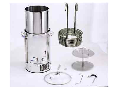ACE Micro Brewery Brewer, Craft Beer,  Mash Tun with pump and chiller coil 8.8m