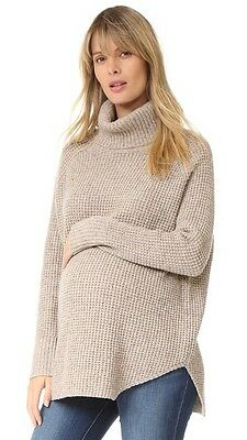 "HATCH Maternity ""The Waffle"" Turtleneck Sweater - Size 0/S"