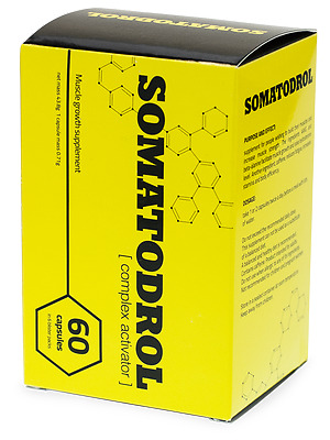 SOMATODROL- READY EXTREME STRENGTH AND LEAN MUSCLE MASS GAIN 60 Caps