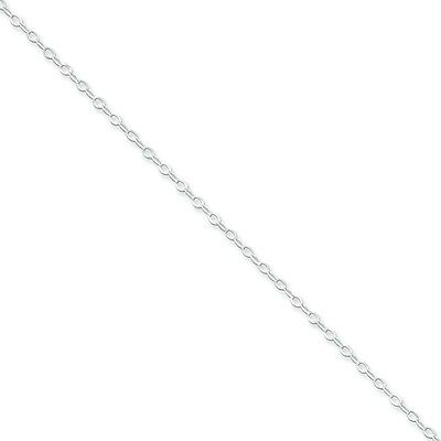 """Mens Ladies .925 Sterling Silver 2.2mm Fancy Link 16"""" Chain Necklace For Pendant"""