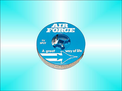 Rare U.s. Air Force 60 Sec Tv Spot Commercial On Reel Nice Case And Graphics