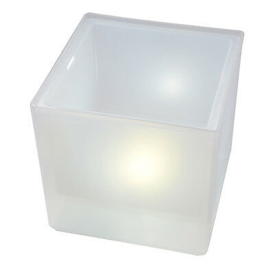 LED Ice Bucket Champagne Wine Bar Drinks Cooler Light Glowing Retro Party HS615