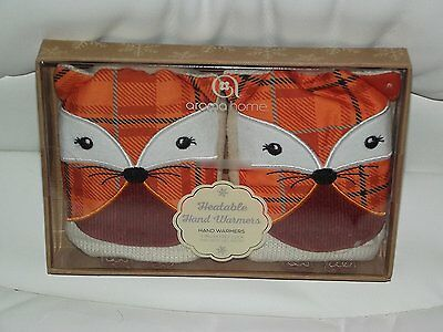 Aroma Home Fox hand warmers - brand new in box