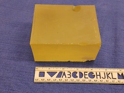 Lead Glass Faceting Rough Reactor Window Nuclear Submarine Facetor Lapidary