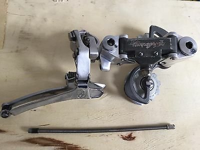 CAMPAGNOLO SET CAMBIO front rear + cable  VICTORY VINTAGE  L'EROICA CLAMP +26 mm
