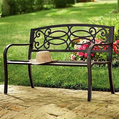 3 Seater Outdoor Home Garden Patio Bench Seat Furniture Classic Venice Bench