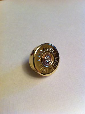 Holland & Holland shotgun shell cartridge cap lapel pin - tie tac game and clay!