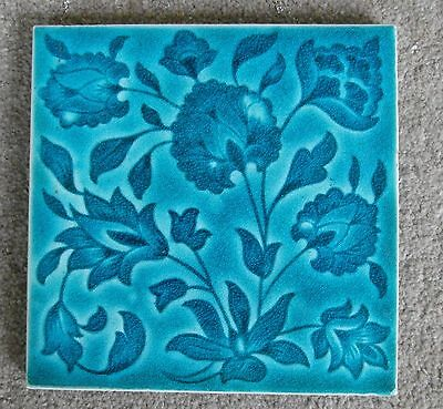 "Original  English  Art Nouveau tile , c1899/01  6x6""Tile"