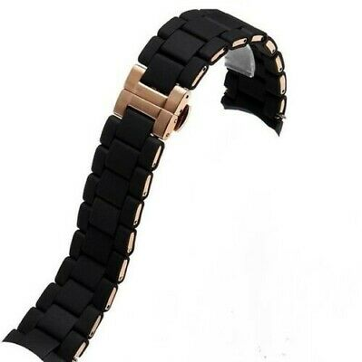 New Replacement Emporio Armani Mens Strap AR5905 Complete with Clasp + pins!