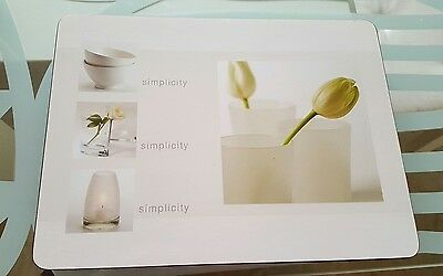 Jason Cork Table Placemats Simplicity by Sally Weatherby Set of 6