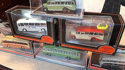 Corgi and EFE Diecast Coach Collection - Mint